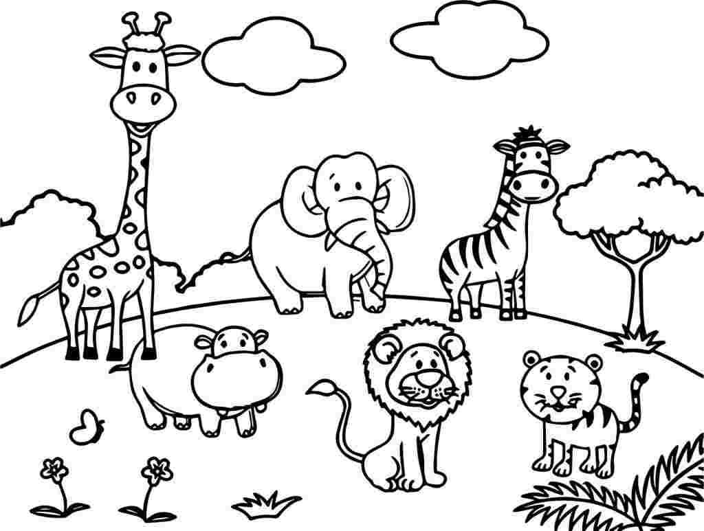 kleurplaten dieren