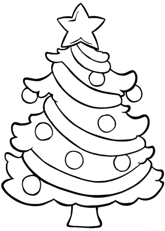 kerstboom kleurplaat kleurplaatje nl